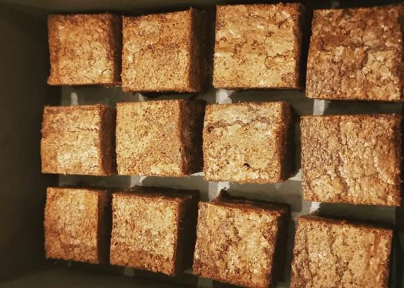 Batger's Salted Caramel Brownies - 1 box (12 pieces)