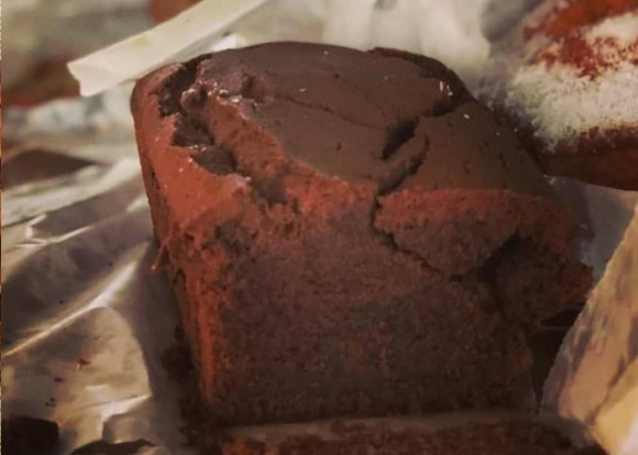 Chocolate Labneh Cake