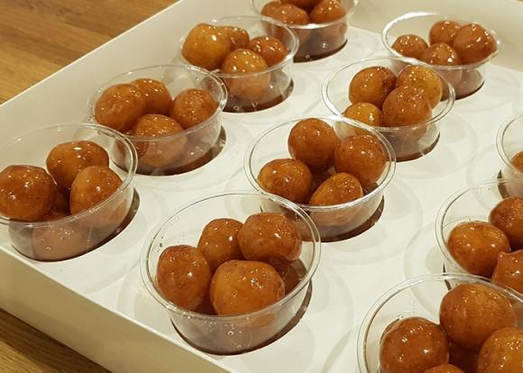 Mini - Sourdough Loqaimat - 1 box ( 12 cups)